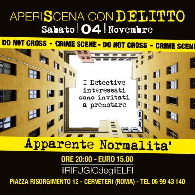 AperiScena con Delitto 4 Novembre